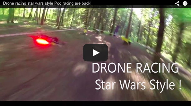 Star Wars Inspired Drone Race - Dronethusiast