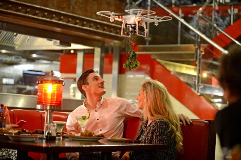 Totally Lame Drone PR Stunt from TGI Friday's