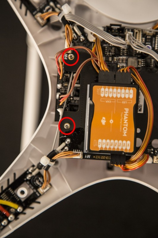 Dji Phantom 2 Wiring Diagram from www.dronethusiast.com