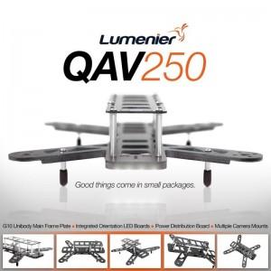 Lumenier QAV250 G10 Frame Kit