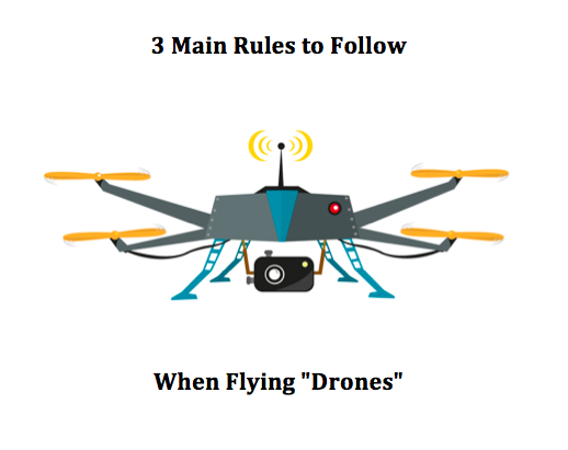 3 Main Rules to Follow When Flying Drones