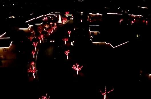 Yucaipa Christmas Light Show 2021 Drone Films Magical Synchronized Christmas Light Show