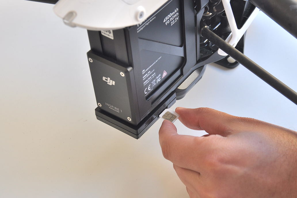 How To Install Flytrex Live 3G on Your DJI Inspire 1