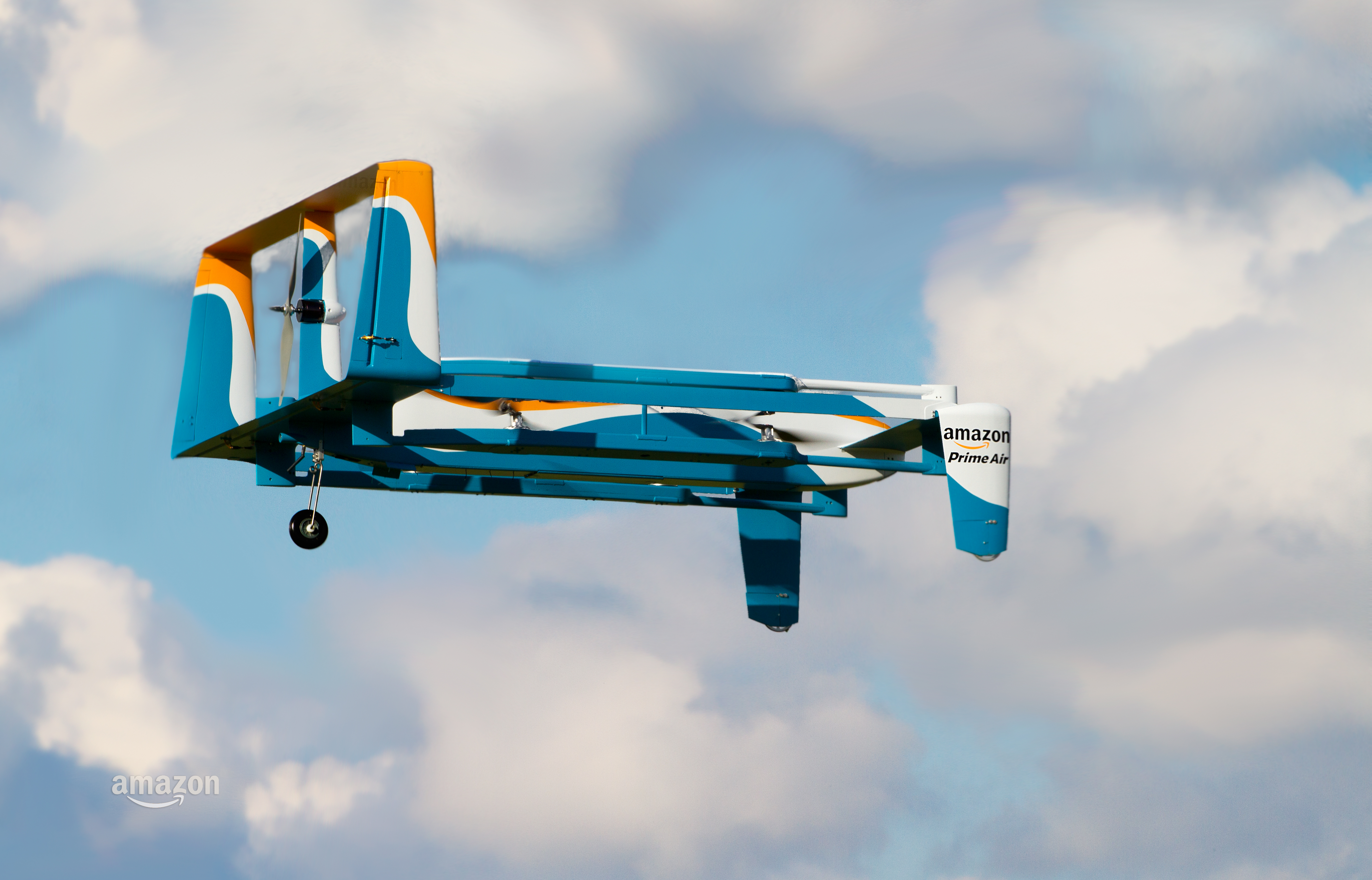 Amazon Drone Used for Yet Another Smart PR Move