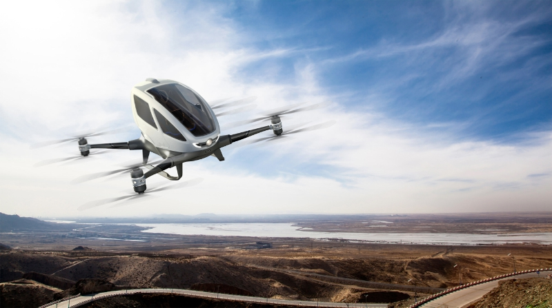 EHang 184 is a Manned UAV You Will Never Get to Fly