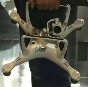 dji phantom 4 metal plate and u shaped gimbal
