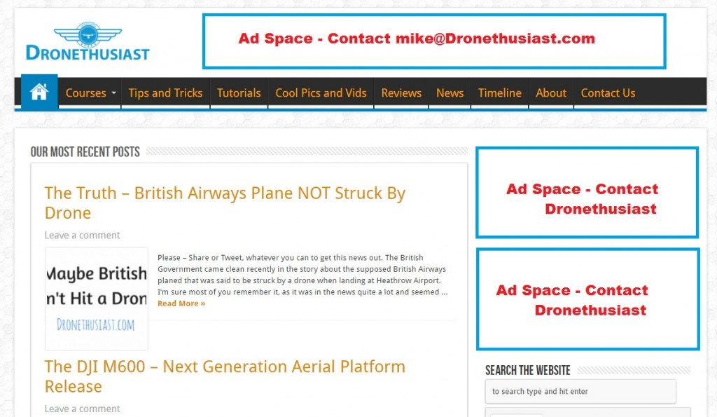 advertise with us dronethusiast