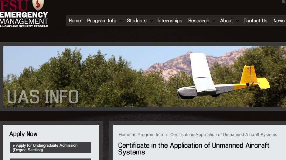 florida state university drone program