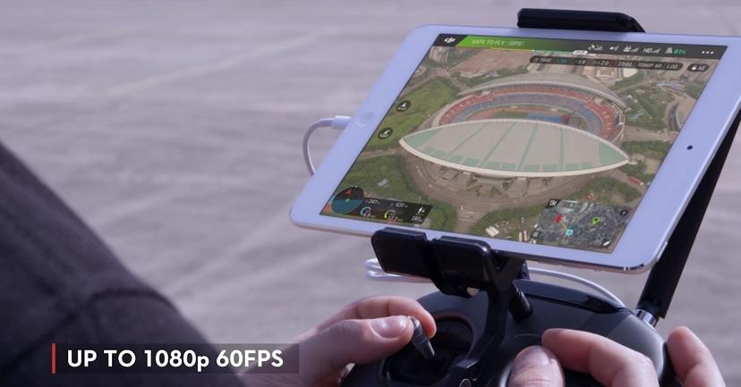 m600 up to 1080p filming dji