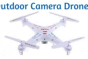 outdoor camera drones