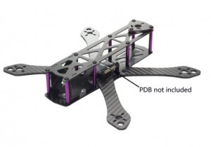 micro quadcopter frame for build kit