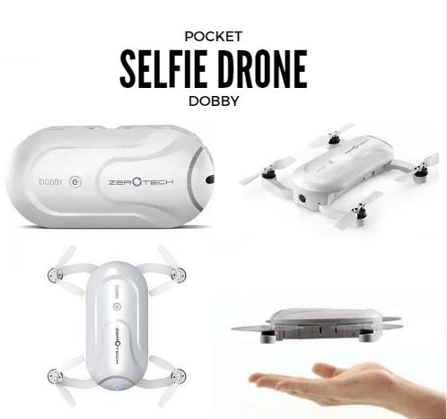 Pocket Drone Selfie Dobby