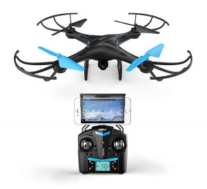 Force1 Blue drone under 200