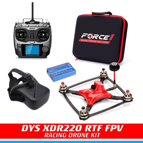Force1 DYS XDR220 FPV Carbon Fiber Racing Best Drone under 500