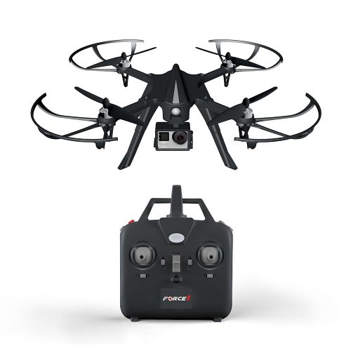 Force1 F100 Ghost GoPro-Compatible Quadcopter under 500