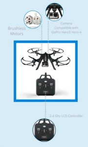 Force1 F100 Quadcopter under 200