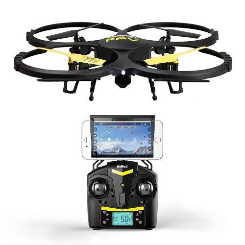 Force1 UDI U818A WiFi FPV Drone in Black under 500