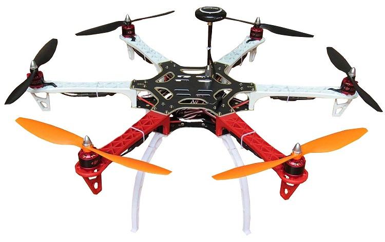 Hobbypower F550 best Hexacopter