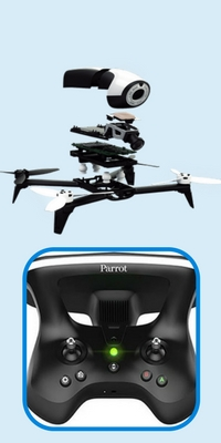 best drones under 500-parrot-bebop-2-specs