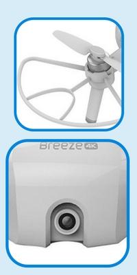 best drones under 500-yuneec-breeze-specs