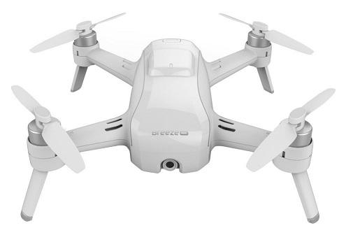 best drones under 500-yuneec-breeze