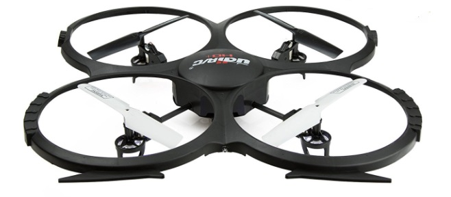 force1 udi 818a hd black quadcopter