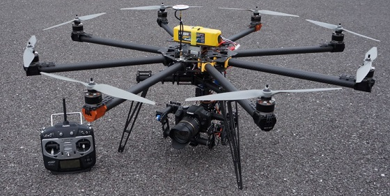Heavy Lift Drone Versadrones Octocopter