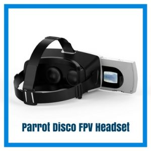 parrot disco FPV headset pic