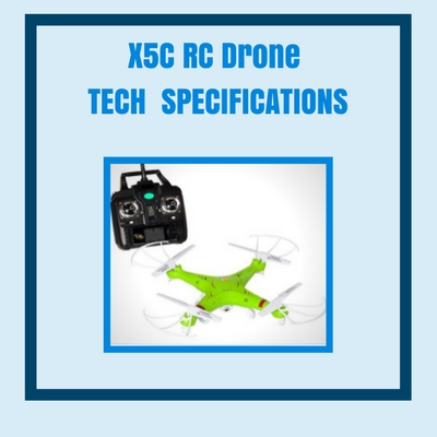 x5c-rc-drone-tech-specifications