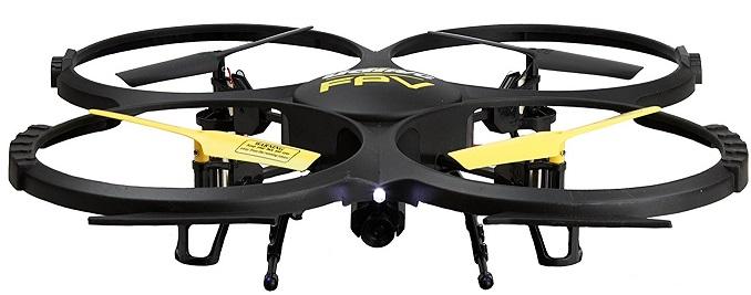 force1 udi u818a black camera drone