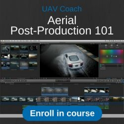 aerial post production course