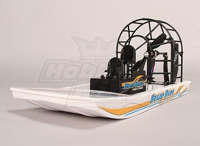 fast RC airboat hobbykind swamp dawg