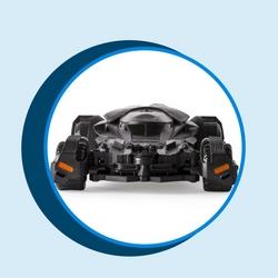 Air Hogs Rc Batmobile Invader Edition