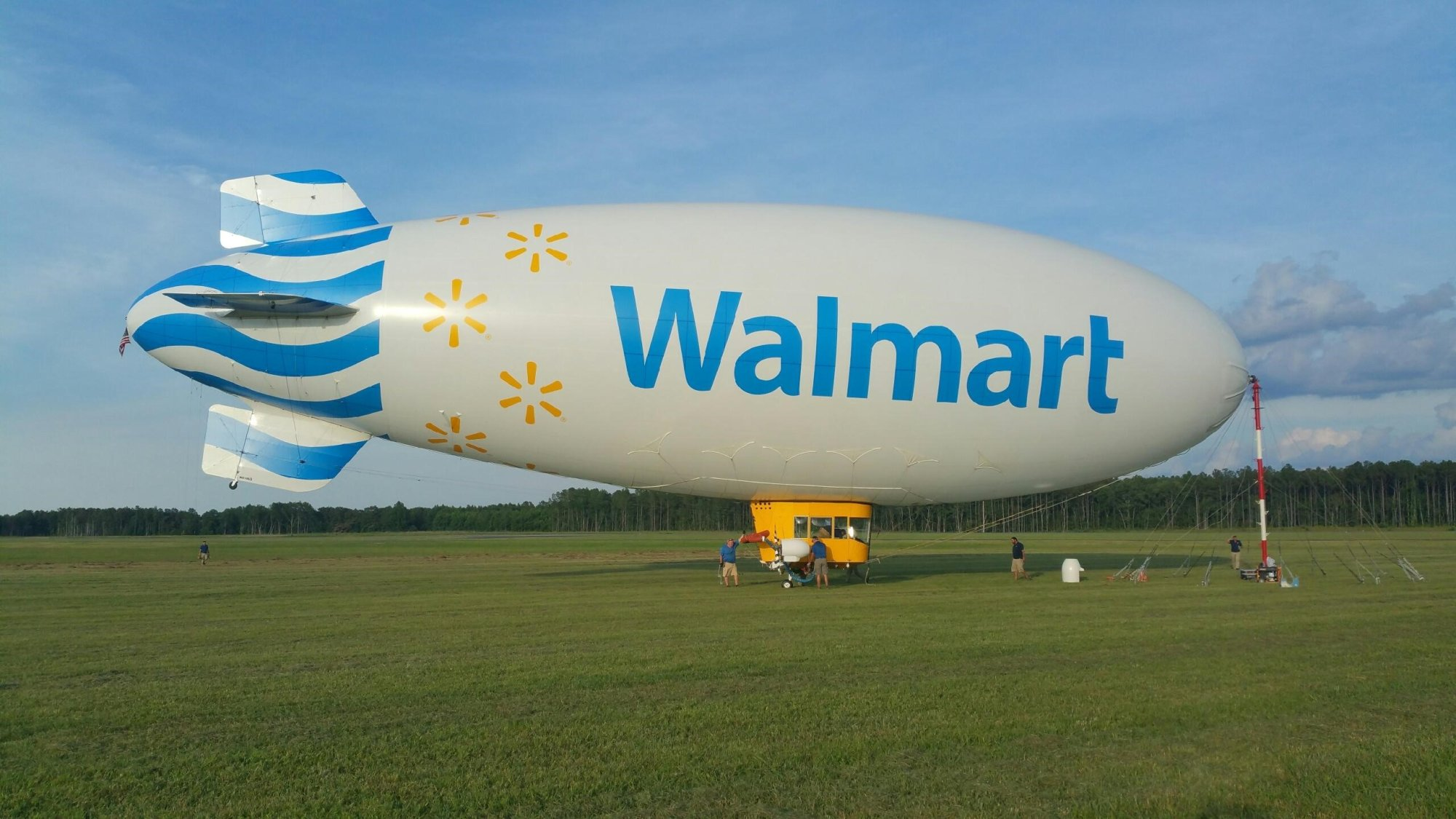 Walmart May Use A Blimp To Deliver With Drones