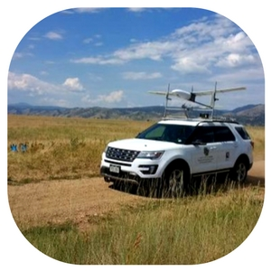 university of colorado drone measure soil moisture