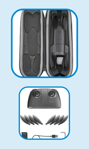 best foldable drones parrot anafi specs