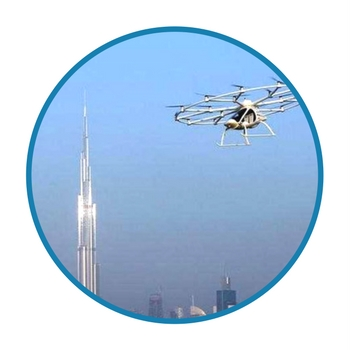 dubai flying taxi dronethusiast