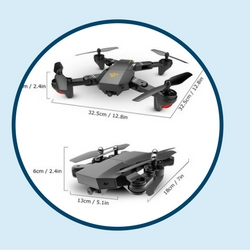 the best foldable drone okpow