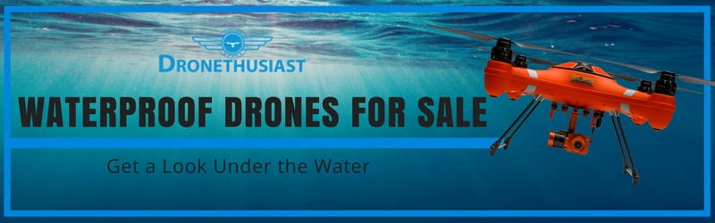 waterproof drones
