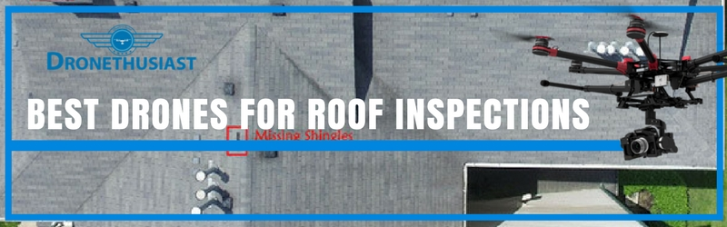 best drones for roof inspections header