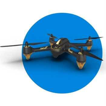 hubsan-501S-brushless dron que te sigue