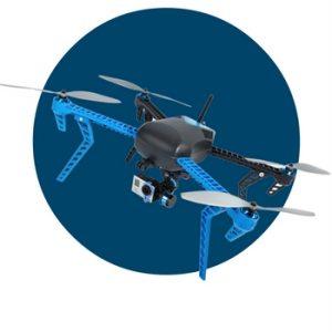 robotics iris drone que te sigue