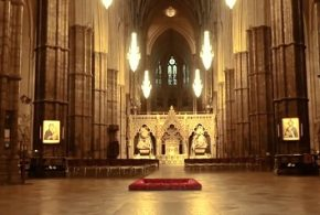 westminster abbey drone footage feature