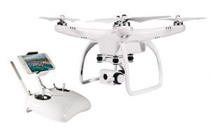 quadcopter with camera and gps upair one