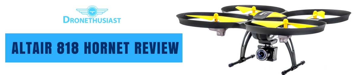 altair aerial 818 hornet drone review header