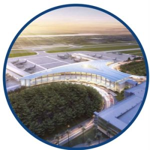 proximity to airports in louisiana