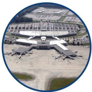 proximity to airports in south carolina