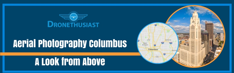 aerial photography columbus ohio
