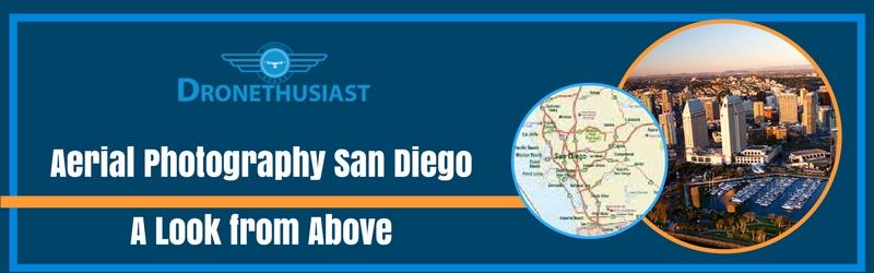 aerial photography san diego california