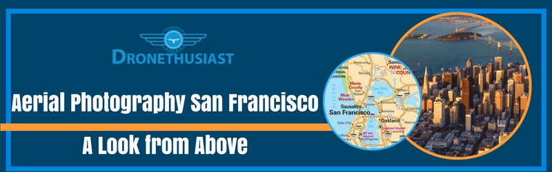 aerial photography san francisco california